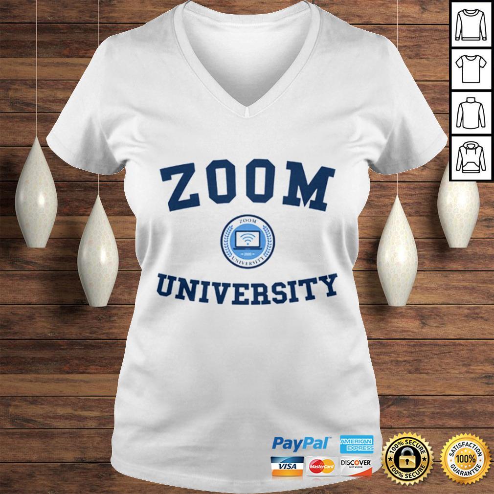 Zoom University US Shirt Ladies V-Neck
