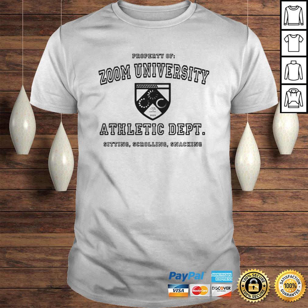 Zoom University Athletic Department Shirt