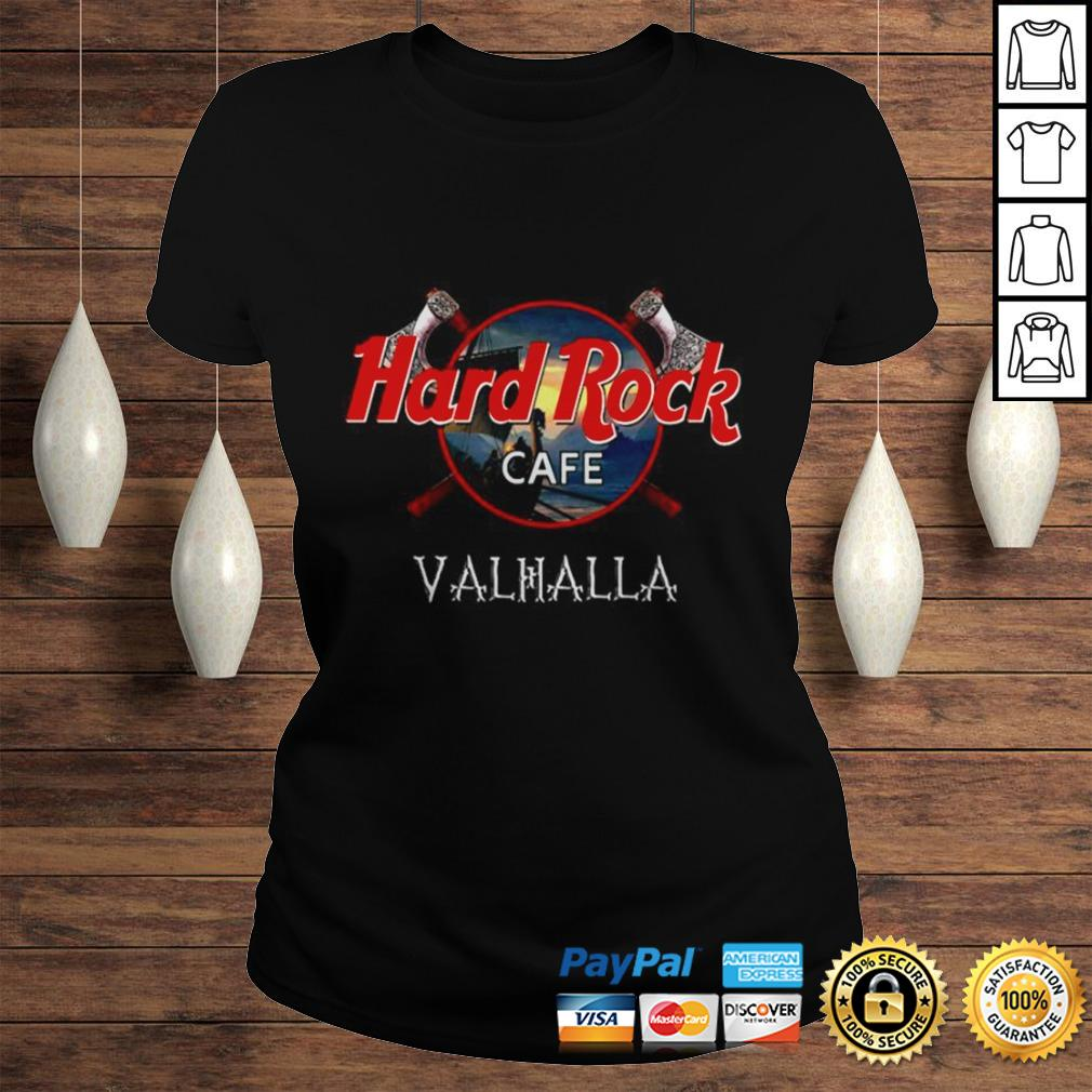 Official Hard Rock cafe Valhalla shirt Classic Ladies Tee