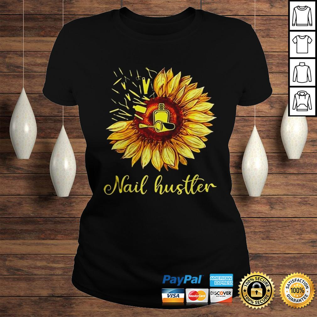 Sunflower Nail Hustler Shirt Classic Ladies Tee