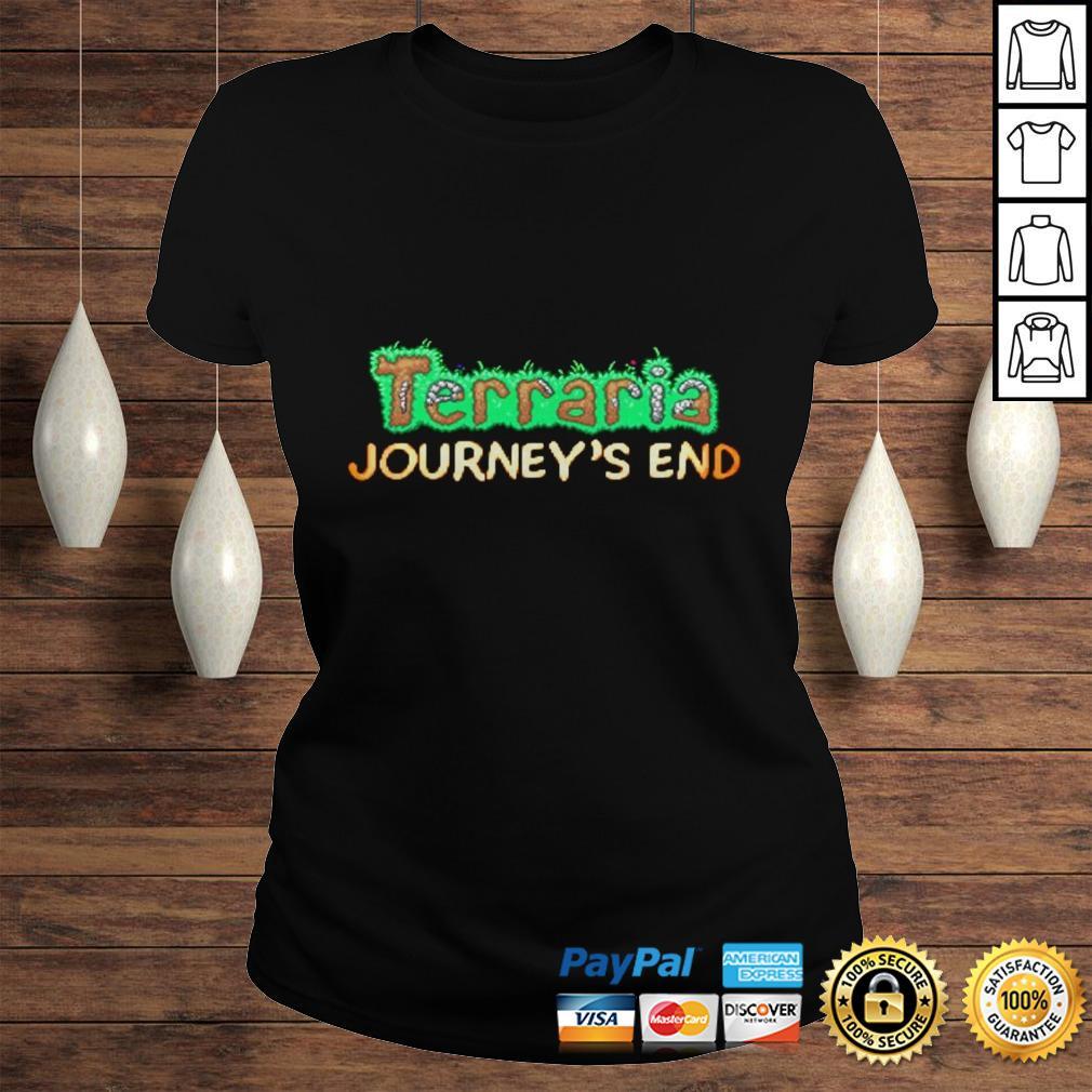 Terraria Journeys End Hoodie Classic Ladies Tee