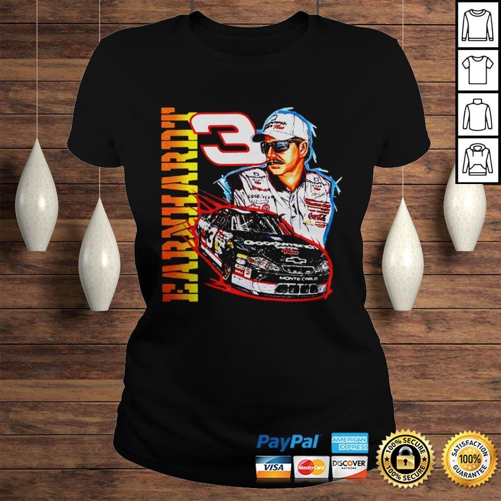 Vintage 90s Dale Earnhardt Nascar shirt Classic Ladies Tee
