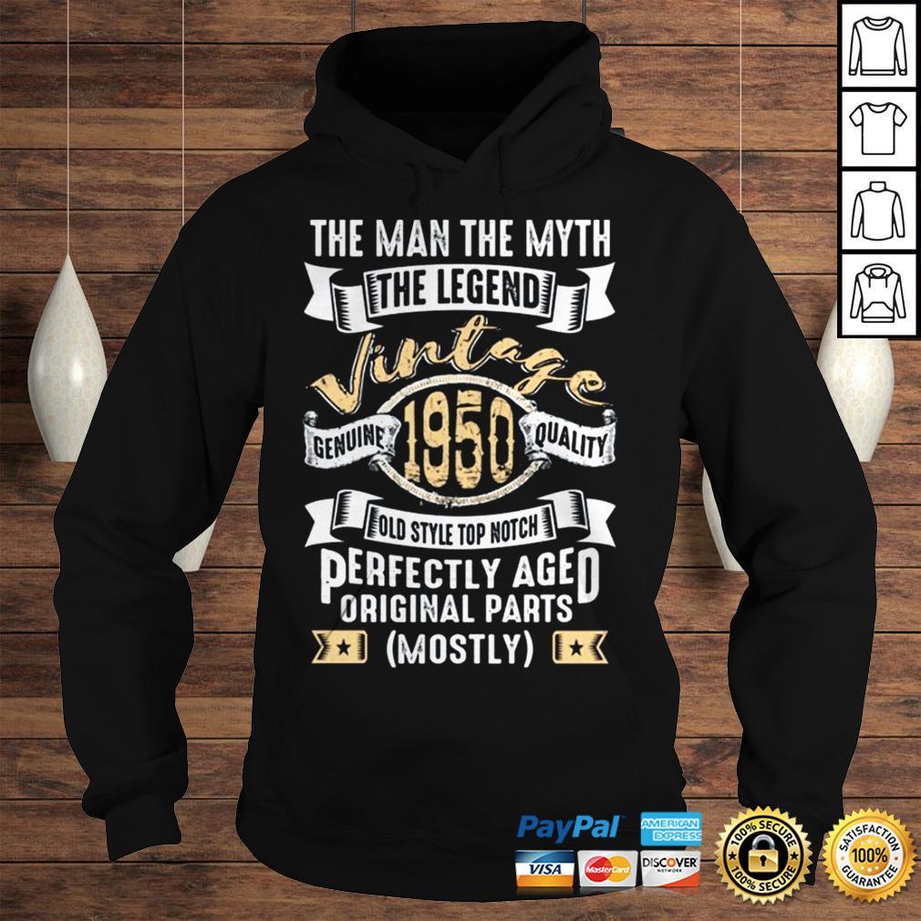 Man Myth Legend 1950 70th Birthday Gifts For 70 Years Old Tshirt