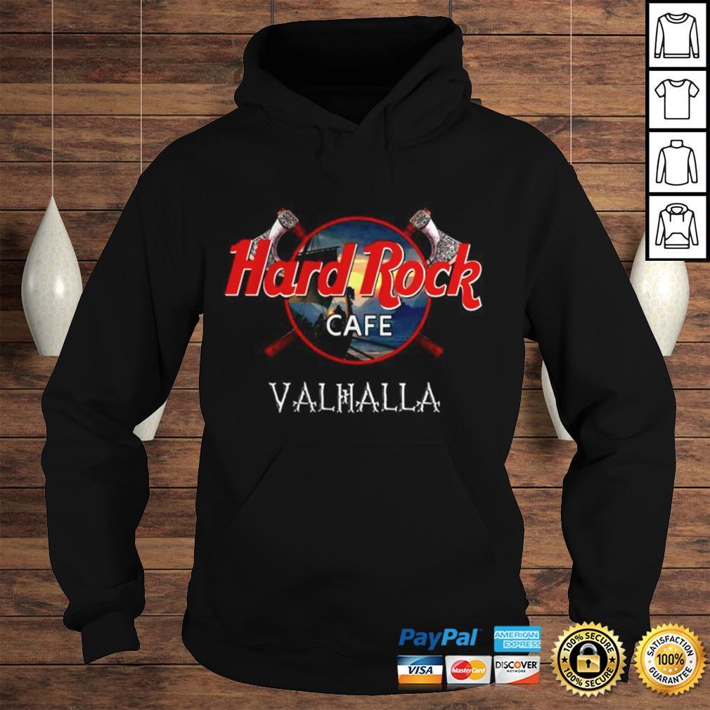 Official Hard Rock cafe Valhalla shirt Hoodie
