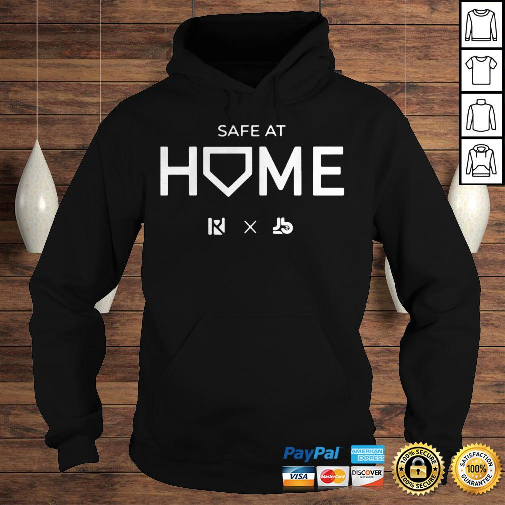 Routine X Justbats Safe At Home Shirt Hoodie
