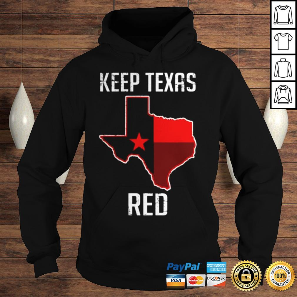 Texas Red State Flag shirt Hoodie
