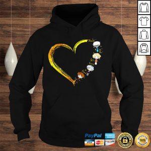 Thank you for being a friend heart The Golden Girls shirt Hoodie