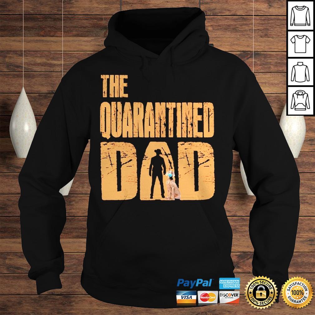 The Quarantined Dad dog mask shirt Hoodie