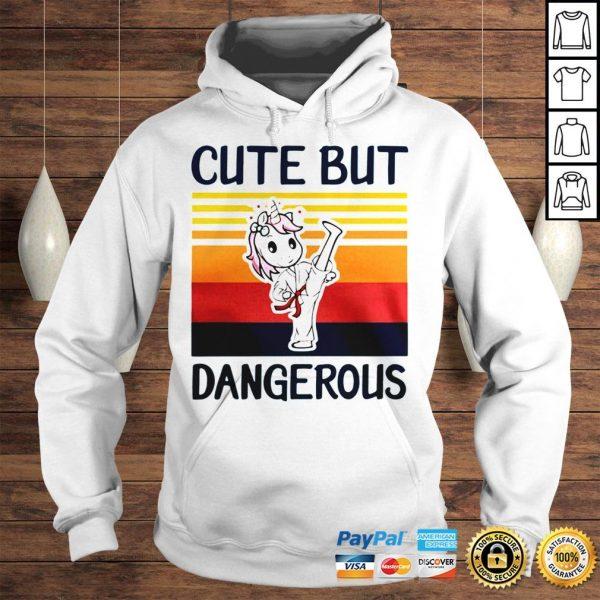 Unicorn Cute But Dangerous Vintage shirt