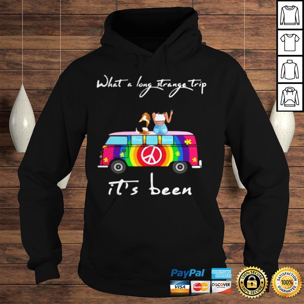 What A Long Strange Trip ItS Been Remy And Laviria TShirt Hoodie