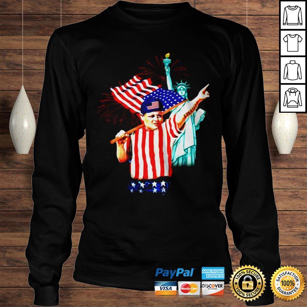 Hamilton Ham Porter The Sandlot Freedom 4th of July shirt Longsleeve Tee Unisex