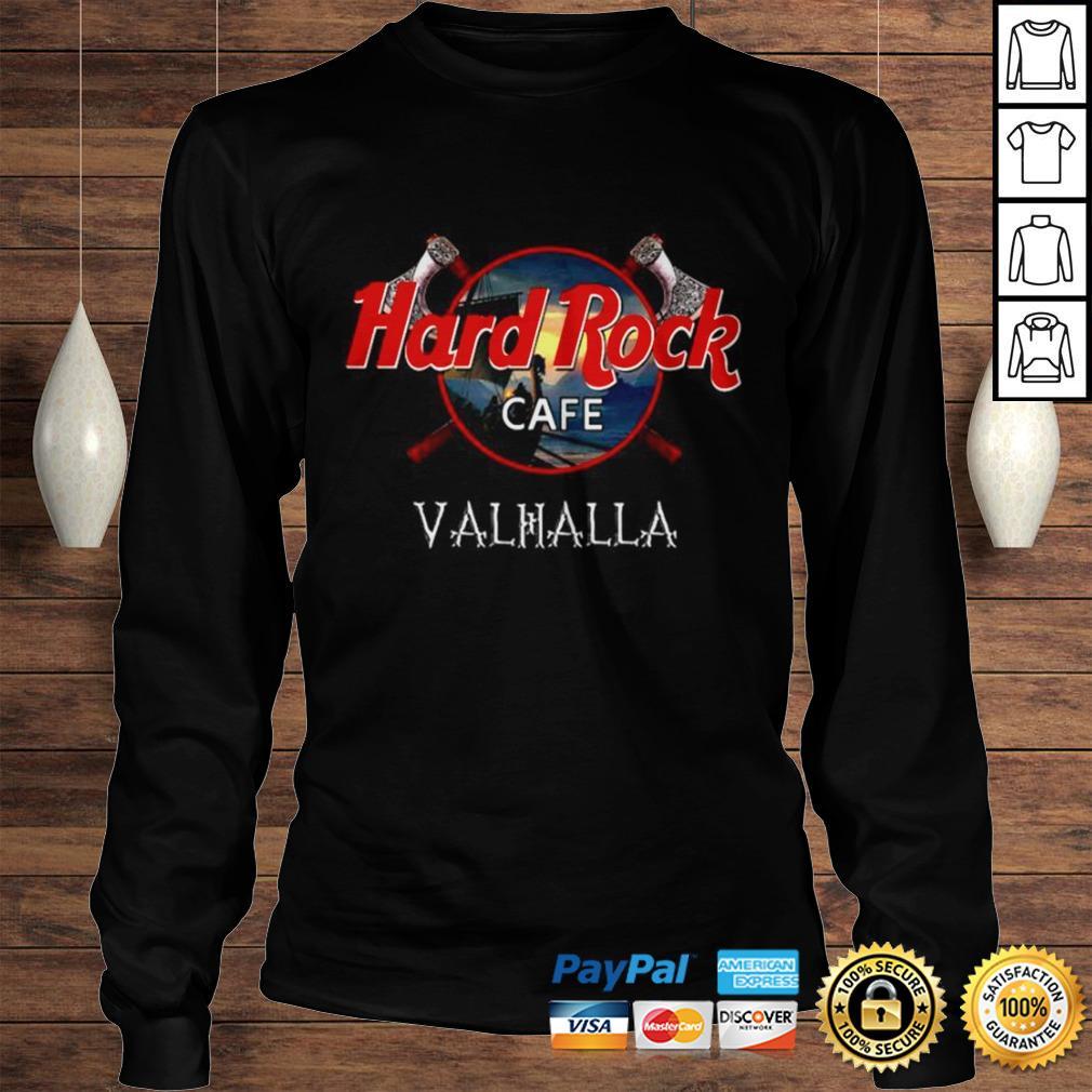 Official Hard Rock cafe Valhalla shirt Longsleeve Tee Unisex
