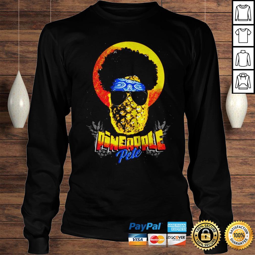 Official Pineapple Pete shirt Longsleeve Tee Unisex
