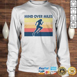 Running mind over miles vintage shirt Longsleeve Tee Unisex