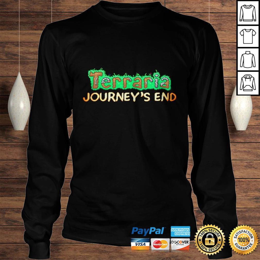 Terraria Journeys End Hoodie Longsleeve Tee Unisex
