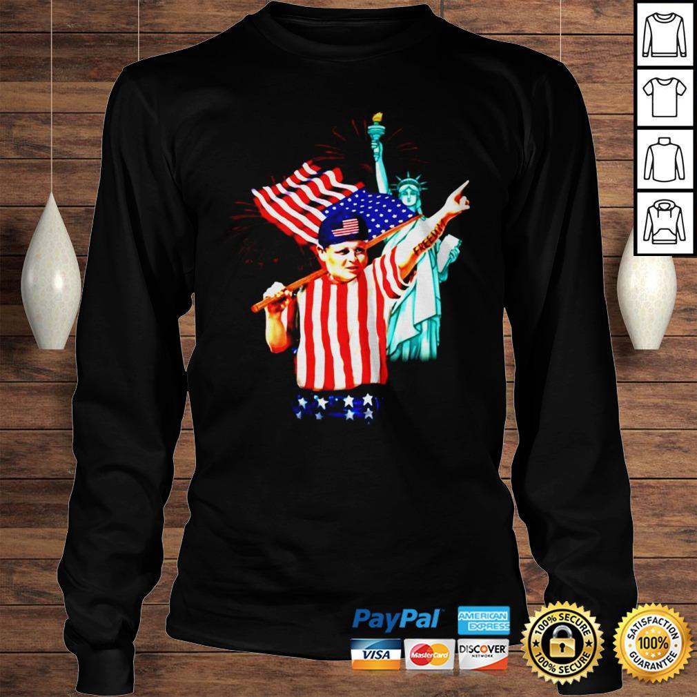 The Sandlot Freedom 4th of July Hamilton Ham Porter shirt Longsleeve Tee Unisex