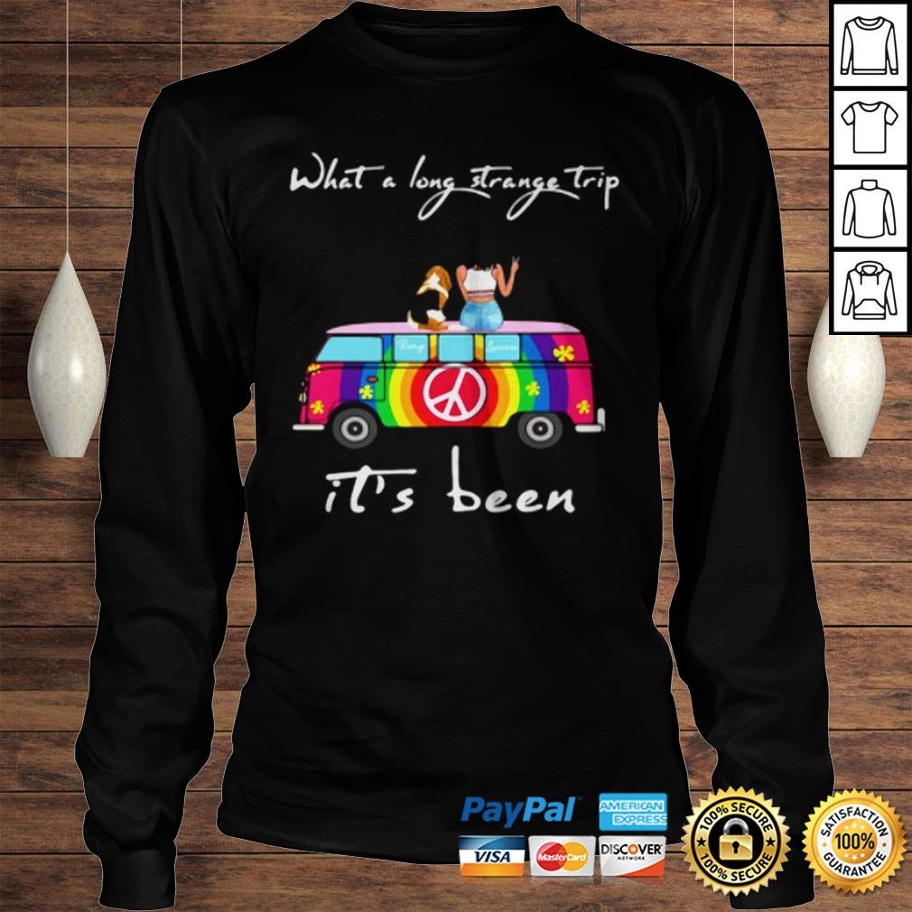What A Long Strange Trip ItS Been Remy And Laviria TShirt Longsleeve Tee Unisex