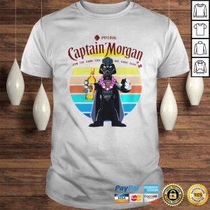 Darth Vader Star Wars Imperial Captain Morgan join the Dark Side we have rum shirt