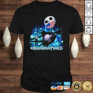 Jack Skellington Face Mask Quarantined Shirt