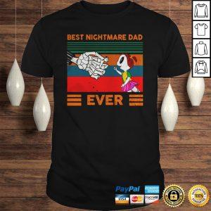 Jack Skellington best nightmare dad ever vintage shirt