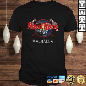 Official Hard Rock cafe Valhalla shirt Shirt