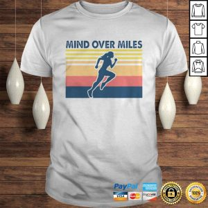 Running mind over miles vintage shirt Shirt