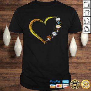 Thank you for being a friend heart The Golden Girls shirt