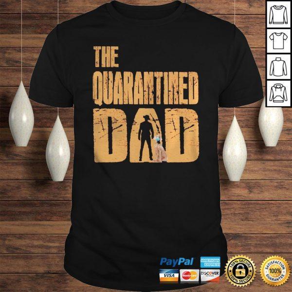 The Quarantined Dad dog mask shirt