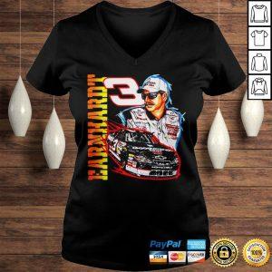 Vintage 90s Dale Earnhardt Nascar shirt Ladies V-Neck