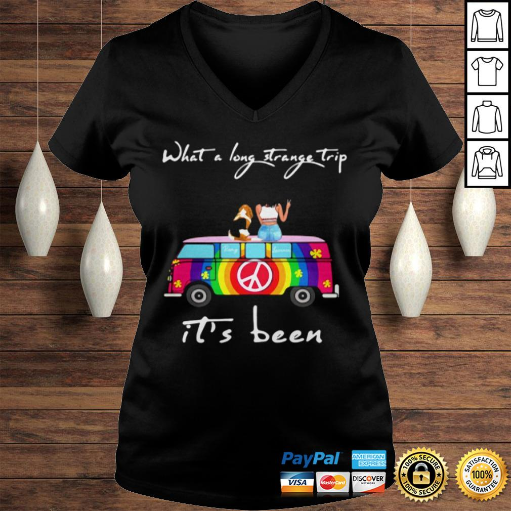 What A Long Strange Trip ItS Been Remy And Laviria TShirt Ladies V-Neck