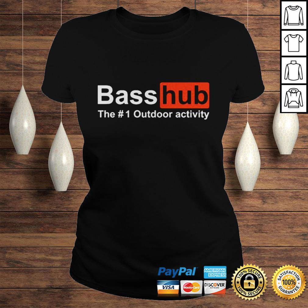 Basshub the outdoor activity shirt Classic Ladies Tee