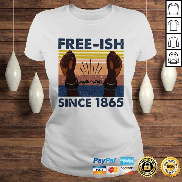 Official freeish since 1865 vintage shirt Classic Ladies Tee