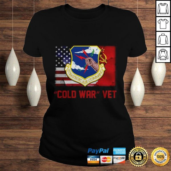 Strategic Air Command Cold War Vet American flag Shirt Classic Ladies Tee