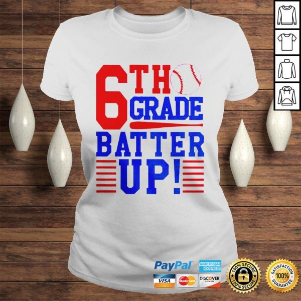 Tennis 6th Grade Batter Up Shirt Classic Ladies Tee