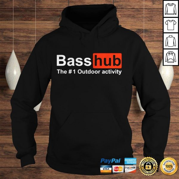 Basshub the outdoor activity shirt Hoodie