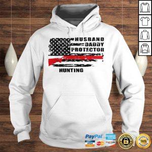 Husband daddy protector hunting shirt Hoodie