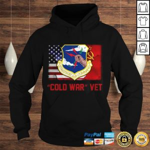 Strategic Air Command Cold War Vet American flag Shirt Hoodie