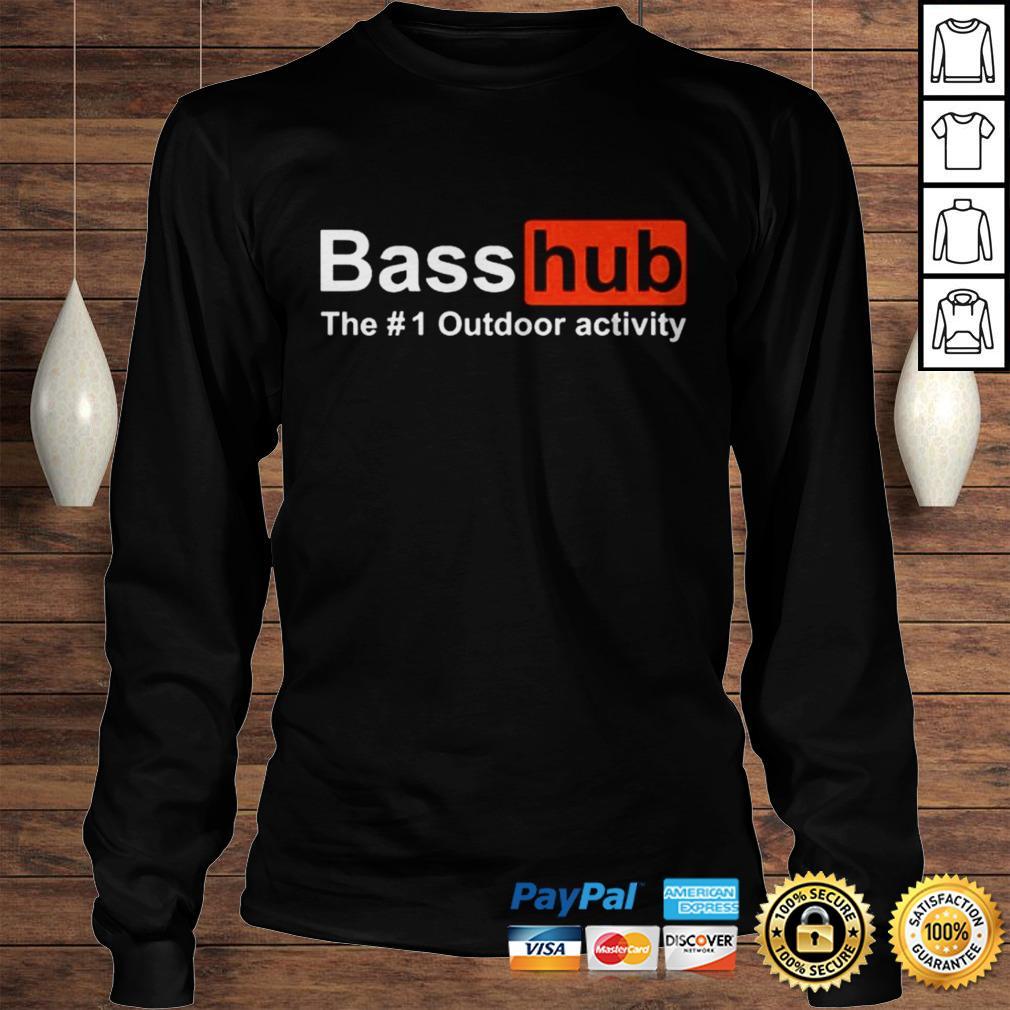 Basshub the outdoor activity shirt Longsleeve Tee Unisex