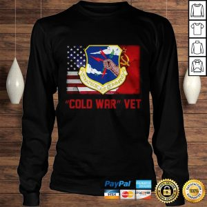 Strategic Air Command Cold War Vet American flag Shirt Longsleeve Tee Unisex