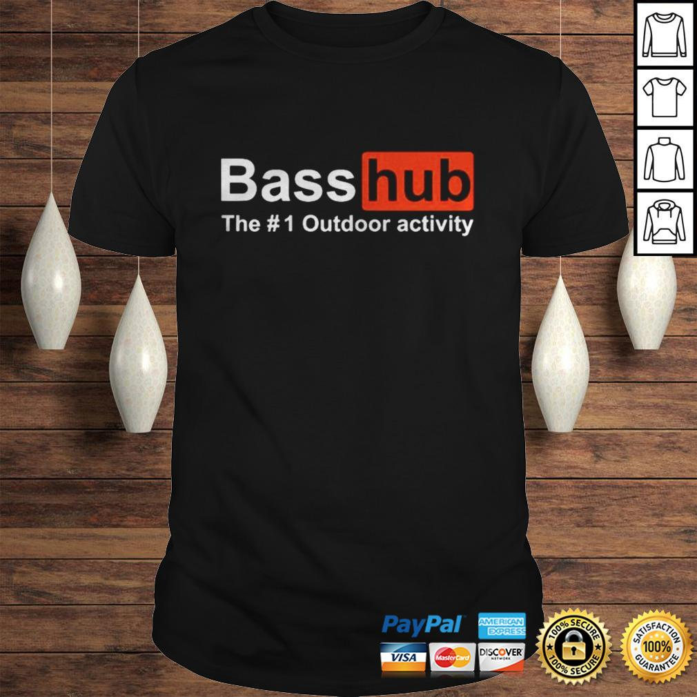 Basshub the outdoor activity shirt