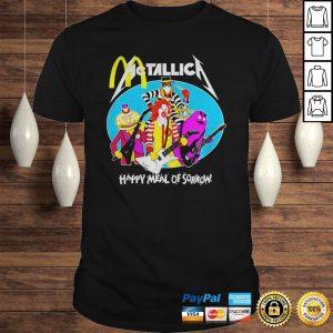 McDonalds Metallica happy meal of sorrow shirt Shirt
