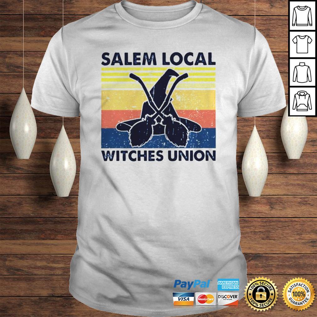Salem local witches union vintage shirt