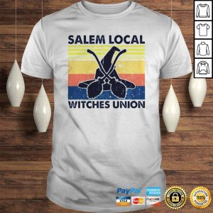 Salem local witches union vintage shirt Shirt
