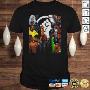 Superheroes No Justice No Peace Black Lives Matter Shirt Shirt