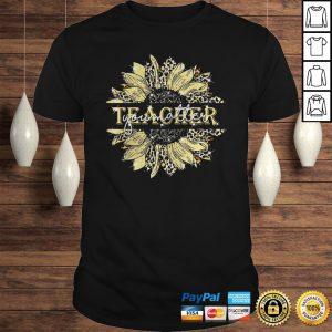 Teacher your matter sunflower shirt Shirt