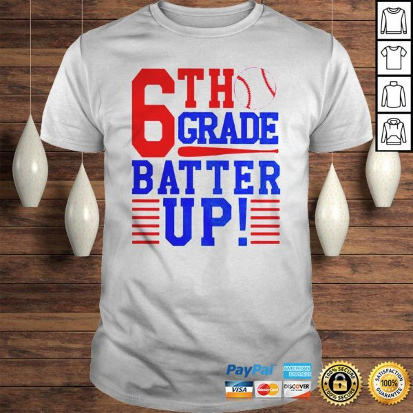 Tennis 6th Grade Batter Up Shirt Shirt
