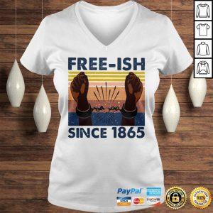 Official freeish since 1865 vintage shirt Ladies V-Neck