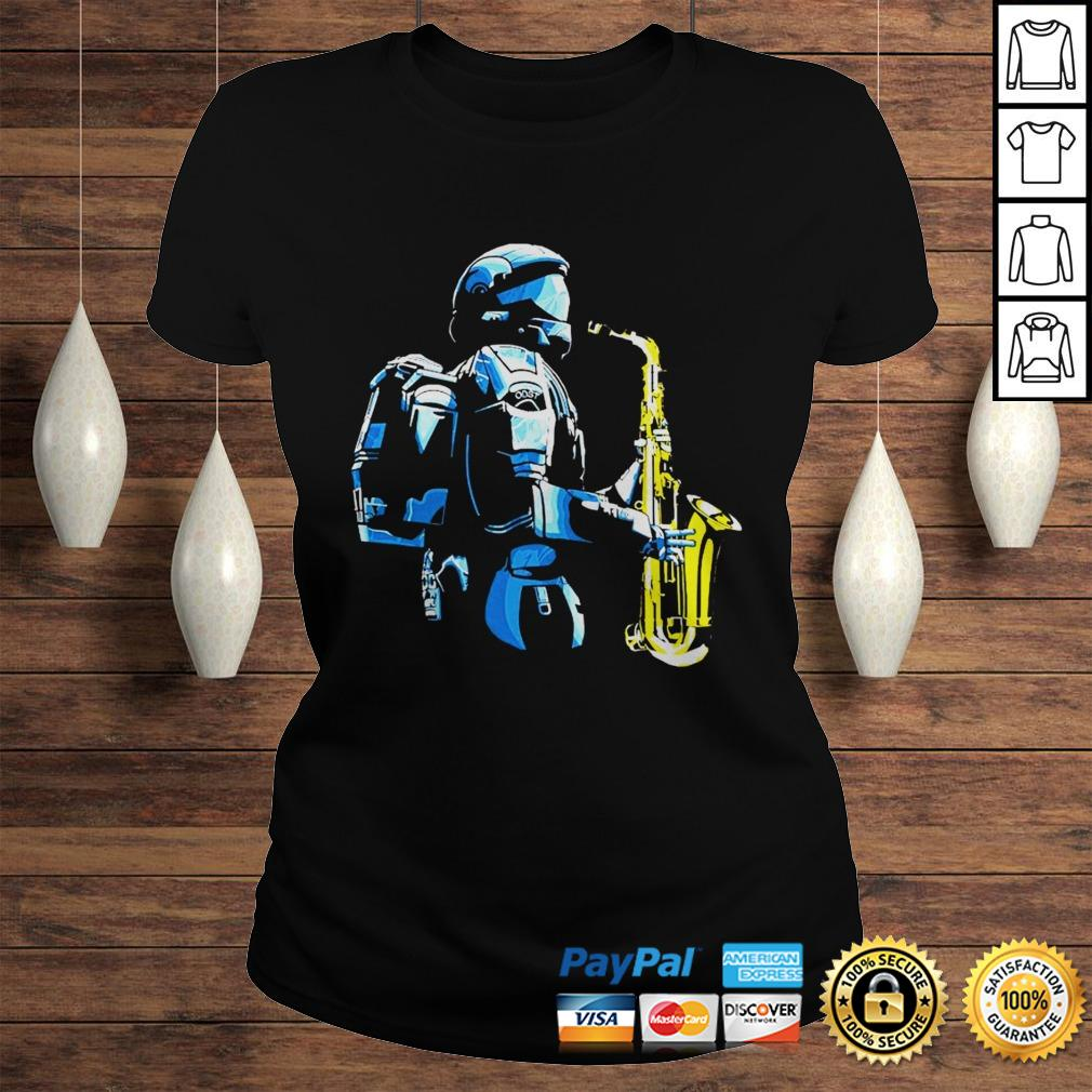 Halo 3 odst saxophone shirt Classic Ladies Tee
