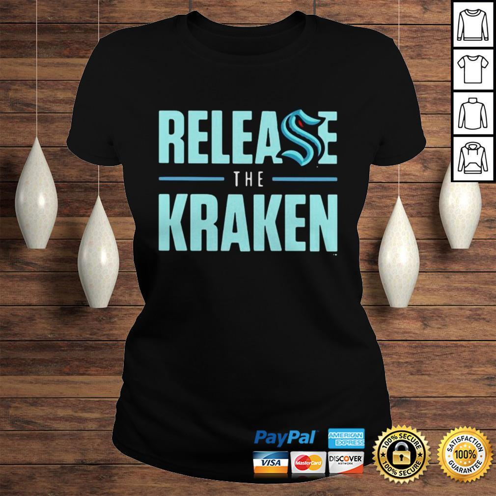 Release The Kraken Hoodie Classic Ladies Tee