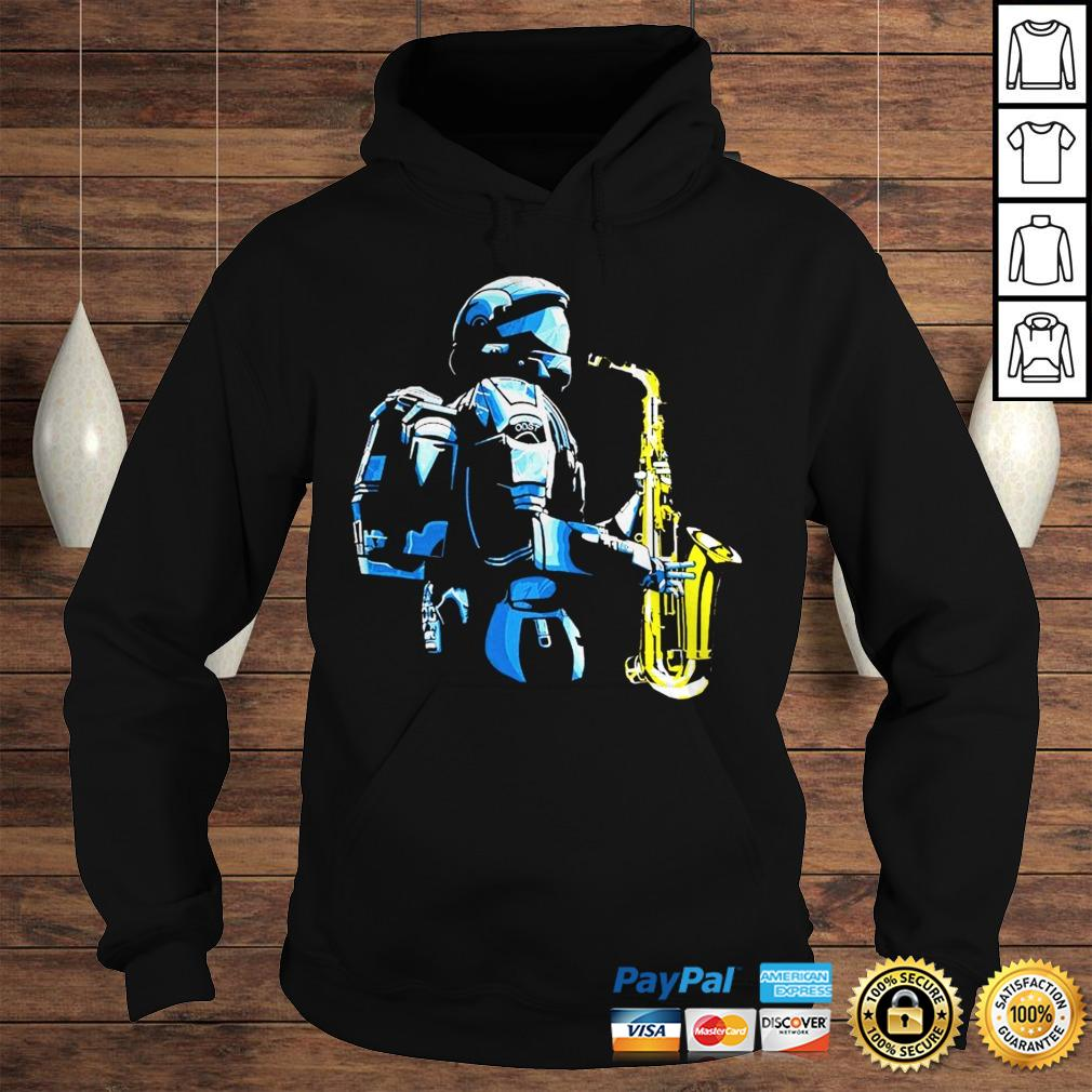 Halo 3 odst saxophone shirt Hoodie